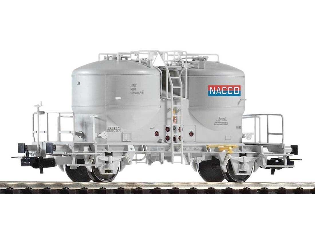 PIKO 54697 carri merci cemento Silo carrello Nacco h0