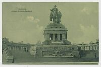 AK Koblenz - Kaiser Wilhelm Denkmal, gel 1913  (Y814)