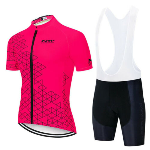2020 New Men Cycling Jersey Short Sleeve Set Bicycle outfits Bike sports uniform