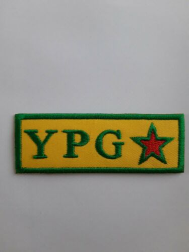 "3/"" YPG Lions of Rojava Embroidery Iron Sew On Patch Badge Military Kurdistan"