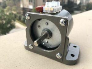 Synchronous Motor 60KTYZ AC 110V 120V 80 rmp//m CW//CCW 14W Gear Motor