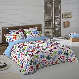 Naturals Funda nordica cama Colorful mariposas /Duvet cover | eBay
