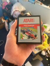 Quality Label POLE POSITION Clean Tested Working Atari 2600 Game Cartridge