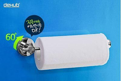 Dehub] Powerful Suction Kitchen Bathroom  Kitchen Towel Paper Holder