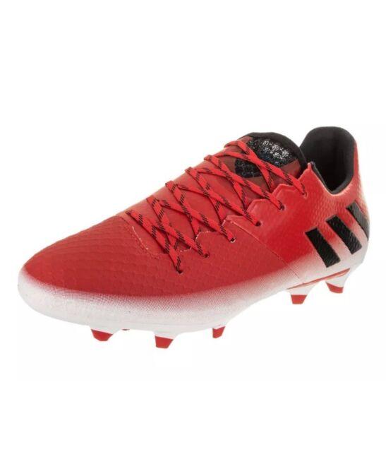 0d6df3b8f36 NEW adidas Men s Messi 16.2 Fg Soccer Shoe Red Black White 6.5 (M