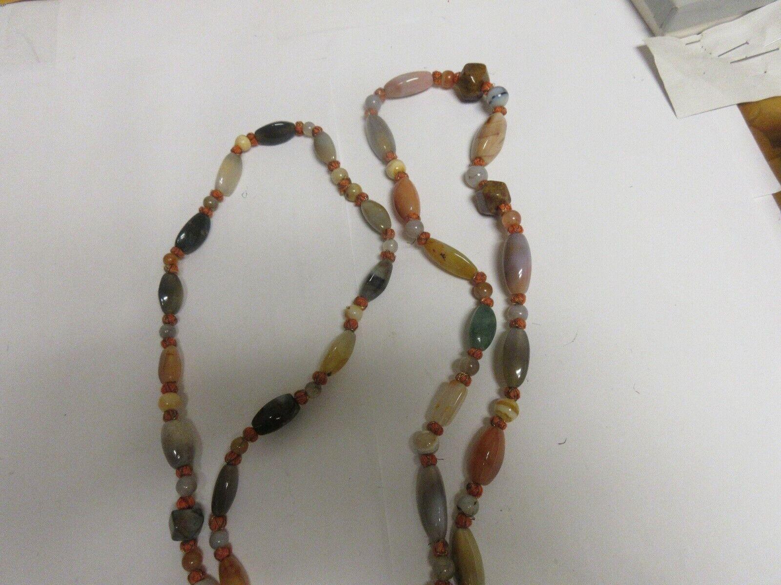 "Costume Jewelry , Vintage , Necklace , Multicolor , 48"""