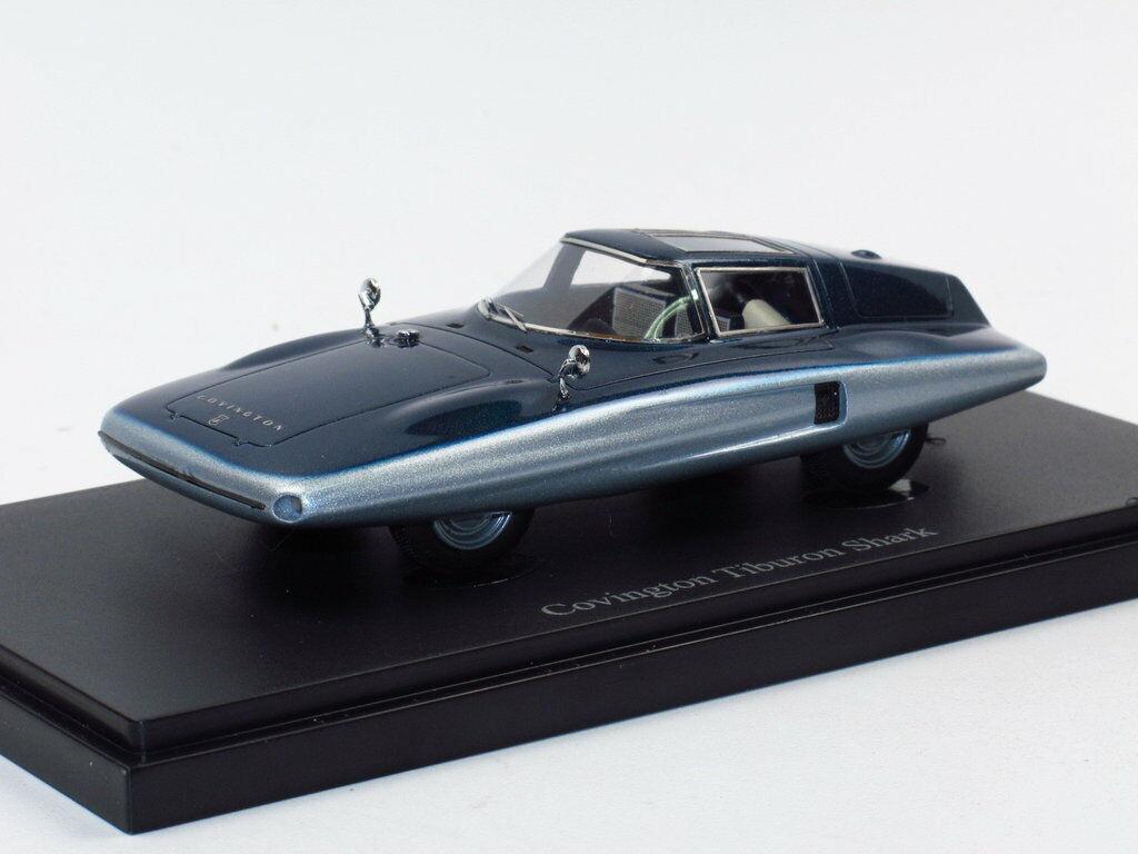Autocult 04016 - 1961 Covington El requin shark requin Streamliner voiture miniature 1 43