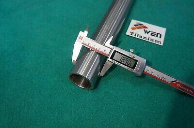 "Seamless 3al-2.5v Round Tubing 1.126/"" x .061/"" x 20/"" Titanium Grade 9 Tube"