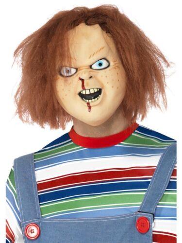Chucky Mask Adult Mens Smiffys Fancy Dress Costume Accessory