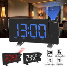 Acctim Chula Radio Controlled Double Alarm Clock Display Features Time Calendar