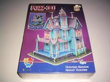 New / Sealed - 1994 WREBBIT Puzz 3D Puzzle Victorian Mansion 700 Pieces