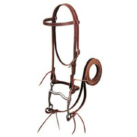 Weaver Cavtuttio pelle Briglia Western Corsa Durevole divertimentozionante Resistente