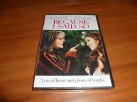 Because I Said So (dvd, 2007, Widescreen) Diane Keaton,mandy Moore