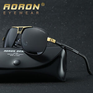 73ee093bec Aoron-HD-Polarized-Sunglasses-Men s-Driving-Outdoor-sports-Eyewear ...