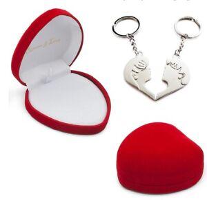 Einkaufschip Schlüsselanhänger mit Herz in Box als Geschenk mit Gravur