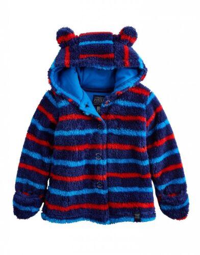 JOULES V Soft Baby Fleece Hoody Albury 0-3m 6-9m 9-12 12-18m FreeUKP/&P