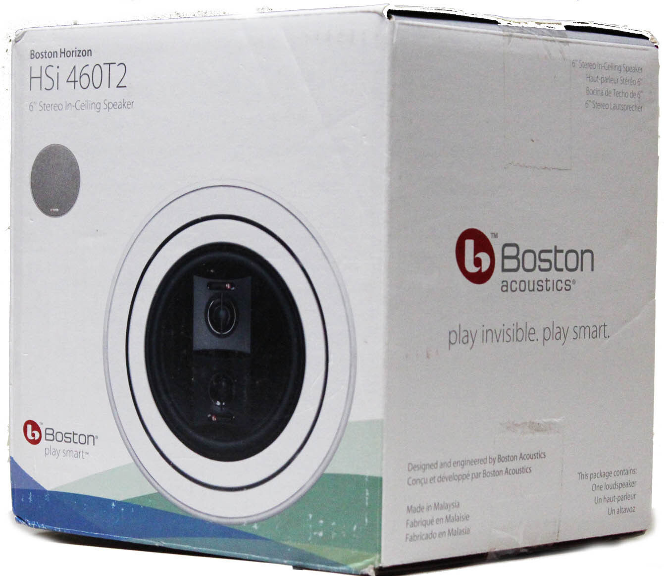 Boston Acoustics HSi 460T2 Main   Stereo In-Ceiling Speaker