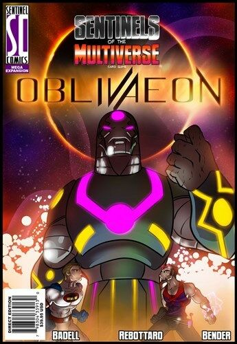Sentinels Of The Multiverse Card Game - OblivAeon OblivAeon OblivAeon 06a3e8