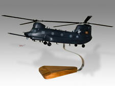 Boeing MH-47E Chinook Solid Kiln Dried Mahogany Wood Desktop Helicopter Model