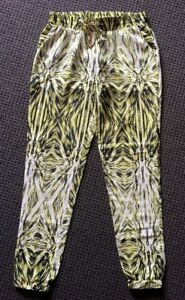 Kardashion-Kollection-Pattern-Soft-Pants-Size-8-Excellent-Condition