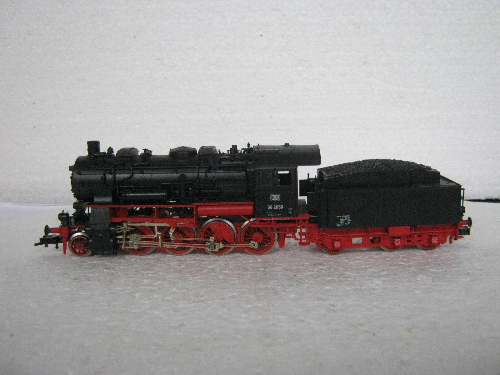 Digital Fleischmann Fleischmann Fleischmann ho/DC 4157 a vapore Lok 56 2659 DB  rg/cl/233-85s1/4  e32749