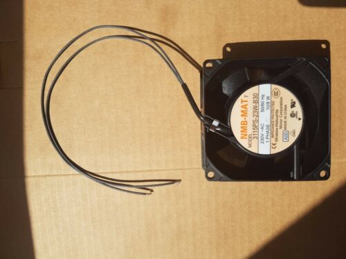 NMB 3115PS-23W-B30 8038 230V 8cm chassis case cooling fan 80*80*38mm 10w 50//60HZ