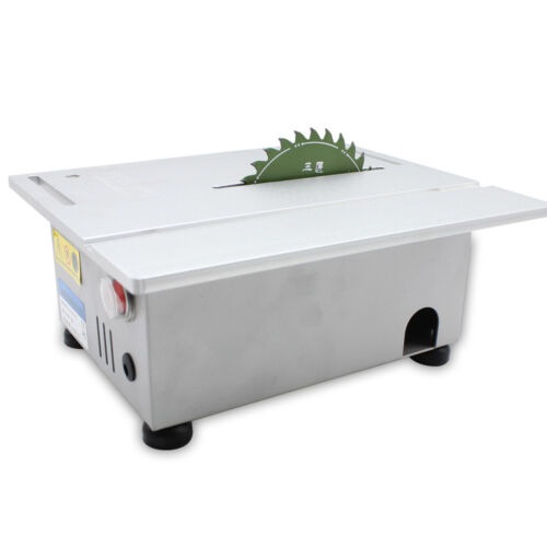 Benchtop Table Saw Blade Woodworking Cutting Lathe Polishing Carving Machine