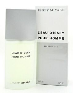 Issey-Miyake-L-039-eau-D-039-issey-Pour-Homme-2-5-oz-EDT-Spray-for-Men-New-Sealed-Box