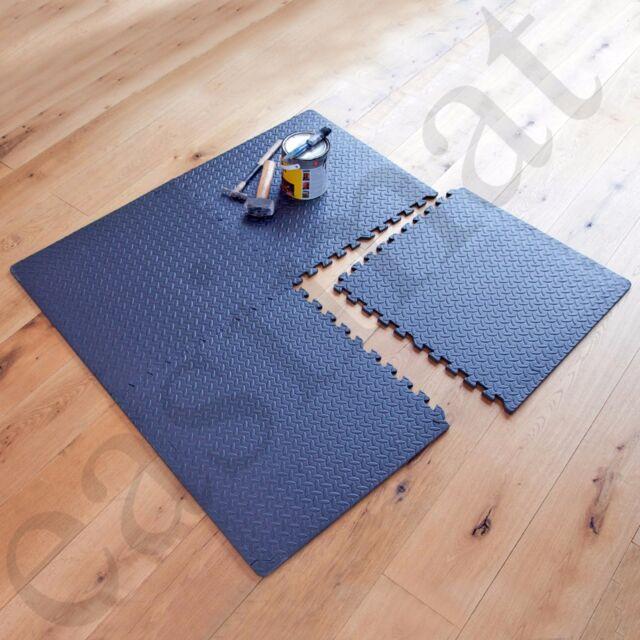 Interlocking anti fatigue gym safety mats sqft d for sale