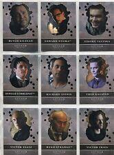 Gotham Season 2 Complete Rising Villains Chase Card Set V1-9