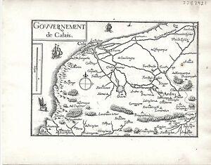 Antique-maps-Gouvernement-de-Calais