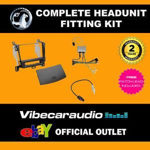 CTKVX20 Double Din CD Stereo Fascia Fitting Kit For Vauxhall Zafira Tourer 2012/>