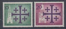 Germany Berlin 1961 ** Mi.215/16 Evangelischer Kirchentag | Church-Congress