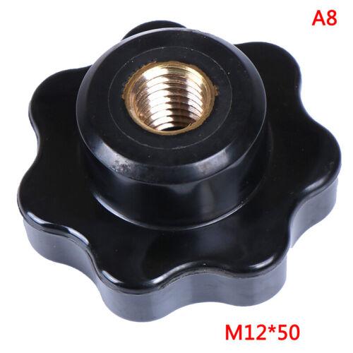 M5//M6//M8//M10//M12 Female Thread Seven Star Shaped Head Clamping Nuts Knob TC