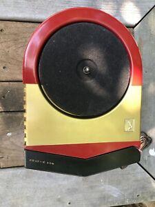 WORKING-BAKELITE-RCA-VICTOR-63E-78-RPM-PRO-RESTORED-RECORD-PLAYER