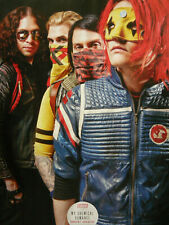 MY CHEMICAL ROMANCE - MAGAZINE CUTTING (FULL PAGE PHOTO) (REF 5D)