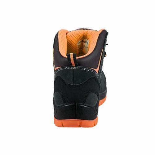 Grau//Orange TERRAX WORKWEAR Sicherheitsstiefel S1P