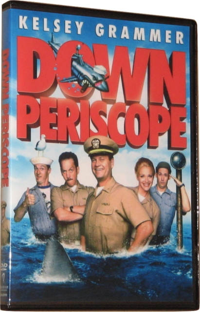 DOWN PERISCOPE DVD (1996) - Region 1 USA Widescreen - Kelsey Grammer - Schneider