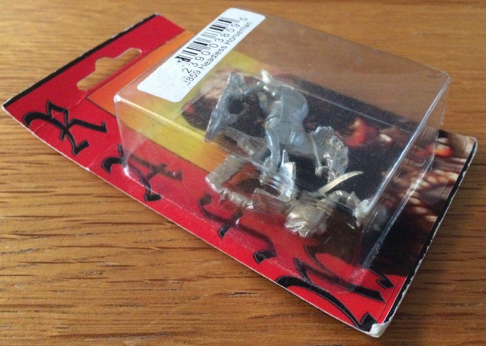 RAFM Fantasía Fantasía Fantasía Metal en miniatura jinete decapitado 3859 Blister Raro 7989cc