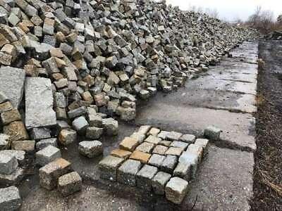 Alte Granit Pflastersteine 18 X 20 Granitpflaster, Granitsteine Angenehme SüßE