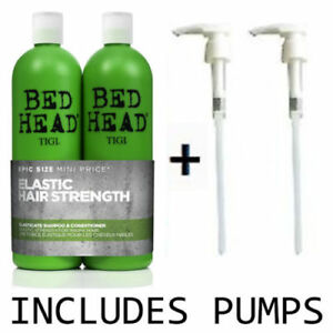TIGI-Bed-Head-Elasticate-750ml-Shampoo-amp-Conditioner-Duo-Pumps