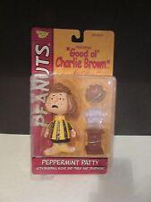 Memory Lane Peanuts PEPPERMINT PATTY w baseball glove, phone, table NEW IN BOX
