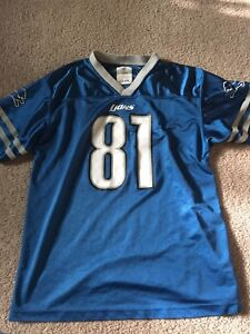 save off 5940a 49df5 Details about calvin johnson jersey