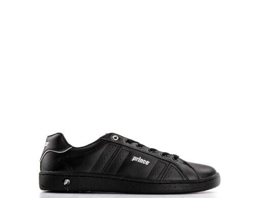 Scarpe PRINCE Uomo Sneakers NEROARGENTO Similpelle