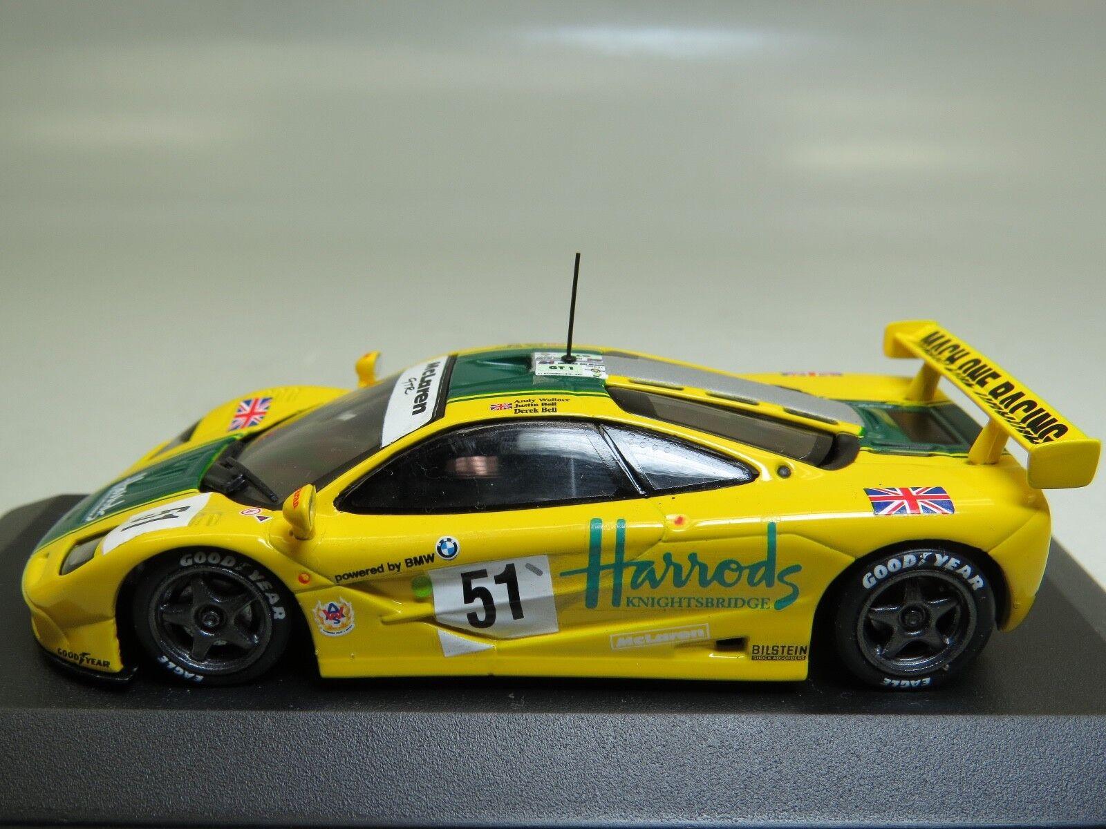 McLaren F1 GTR 3 Le Mans Wallace-Bell-Bell Minichamps 1 43 530154351