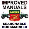 OLIVER Fleetline 66 77 88 Super 55 550 660 770 880 Tractor DEALER SERVICE MANUAL