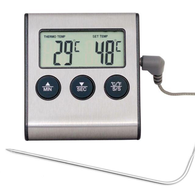 Kühlschrankthermometer Gefrierfachthermometer 40~27°C Kühltruhenthermo LANG