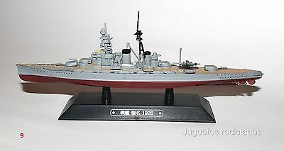 Haruna BARCO DE METAL 20-25 CMS Japanese WWII Battleship boat