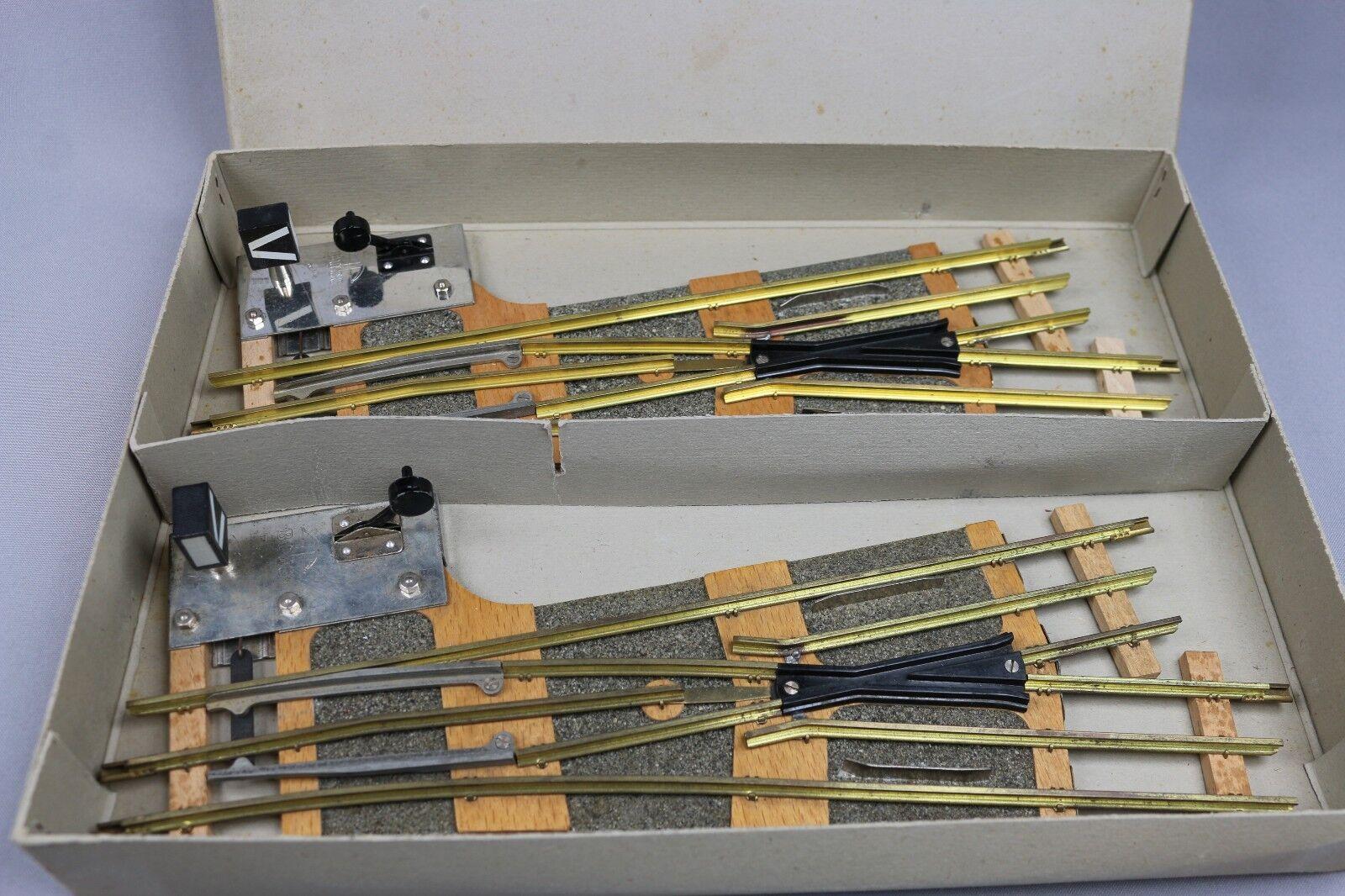 X625 Buco O Selten Paar 'Schalter Mechanisch Schaltbar