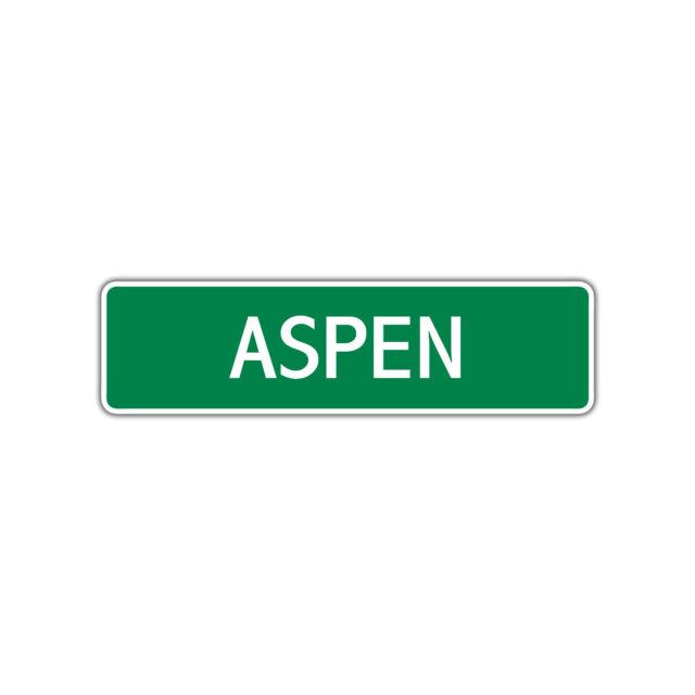 Aspen Girls Name Letter Printed Label Wall Art Decor ...